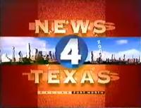 KDFW News 4 Texas noon open - 1995