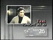 KRIV Taxi 1986 Promo