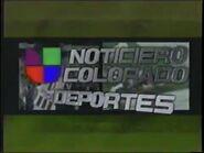 Kcec noticiero univision colorado deportes package 2001