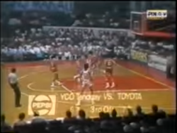 PBA on Vintage Sports scorebug 1982