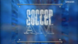Soccer AM First Logo Variation