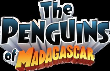 The Penguins of Madagascar (2008) logo