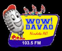 Wow Davao 103.5 Logo 2007