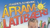 Áfram Latibær Logo 1995