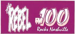 100.1 WWRB FM 100 The Rebel