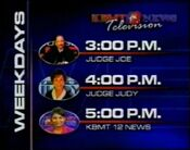 KBMT Afternoon Lineup 2001