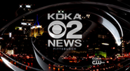 KDKA-TV's KDKA-TV News Nighttime-Version Video Open From September 2010