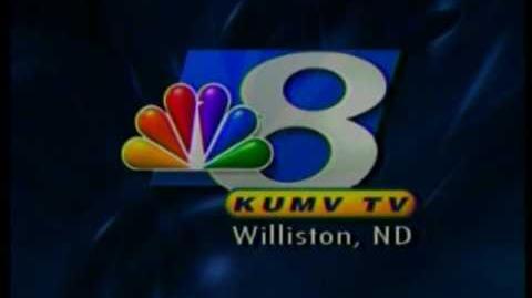 KUMV-8, Williston, ND, May 19, 2008, 8 30am, Station Identification