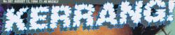 Kerrang old logo 1980s