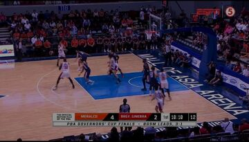 PBA on ESPN5 scorebug 2019 Governors' Cup Finals