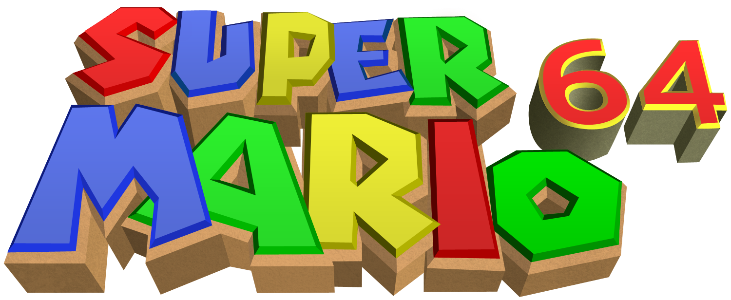 image super mario 64 png logopedia fandom powered by wikia