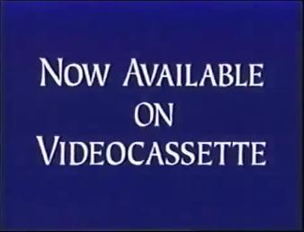 Walt Disney Studios Home Entertainment Buena Vista Now Available on Videocassette Logo