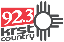 92.3 KRST Country logo