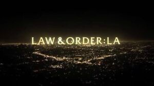 Law & Order LA Title Card