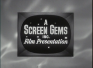 Screen Gems Film Presentation 1950s