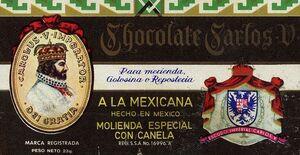 1 Chocolate Carlos V 1978