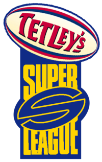 2002 Tetley's Super League logo