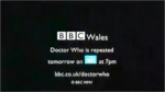 DOCTOR WHO END CARD 2005