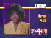 KTVX Oprah 1993 ID