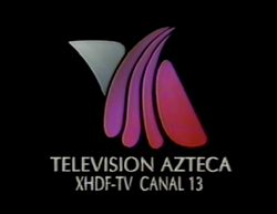 Logo XHDF Canal 13 - 1993