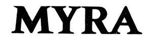 Myra logo 1977