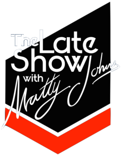 The Late Show With Matty Johns Logo