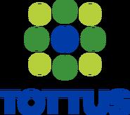 Tottus logo 2002 apilado sin HIPERMERCADO