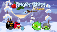 AngryBirdsSeasonsWrecktheHallsLoadingScreen