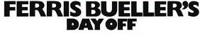 Ferris buelers day off logo