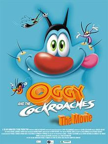 Oggy And The Cockroaches The Movie Poster