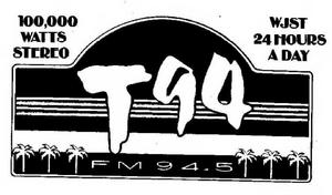 WJST - T94 - 1985 -May 7, 1986-