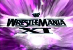 WWFWrestleManiaXI1995logo