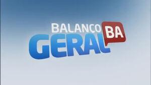 Balanço Geral BA - RecordTV 2018