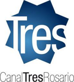 Canal Tres Rosario (Logo vertical - 2008)