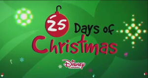 Disney Channel 25 days of Christmas