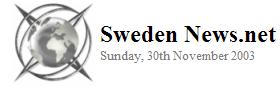 Sweden News.Net 2003