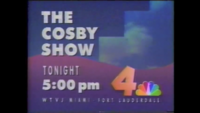 WTVJ The Cosby Show (1989)