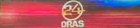 24 Oras Logo (Studio Bumper at Table, 2008-2011)