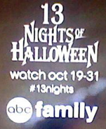 Abc family 13 halloween