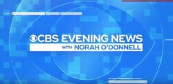 CBS Evening News December 2019 Title Card