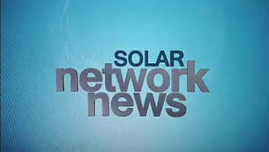 Solar Network News Logo