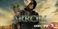 TV5 Arrow Season 4 Test Card
