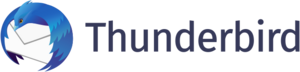 Thunderbird 2018 logo and wordmark
