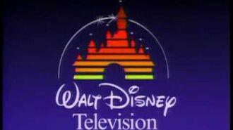 Walt Disney Television & Buena Vista Television Logos (1987)
