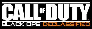 Call of Duty Black Ops Declassified Logo