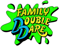 Family Double Dare splat logo