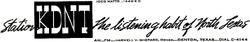 KDNT Denton 1953