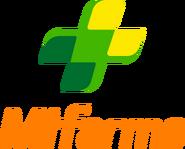MiFarma logo 2012 apilado