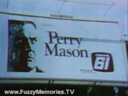WKBF-TV Perry Mason Promo Billboard