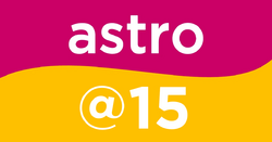 Astro @15 logo